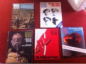 History of The Second World War magazine(1966) Set 128 issues