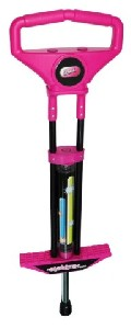 Ozbozz Elektra Pogo Stick Outdoor game Activity for Girl Pink
