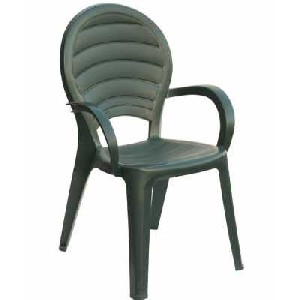 Paloma - Stackable resin chair. Suitable for garden, bar