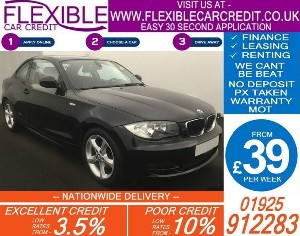 2010 BMW 118D 2.0 SPORT COUPE DIESEL MANUAL 57K
