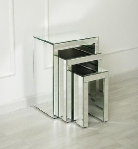 Shop Mirror Nest of Tables for Living Room
