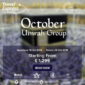 Group October Umrah Packages Available in Cheap Rates