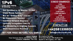 Cisco CCNA Training- This is a FREE Trial