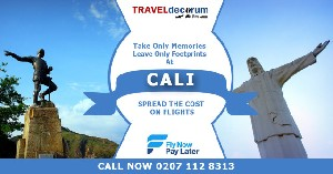 Call us 0207 112 8313 Cheap Flights to Cali, Colombia