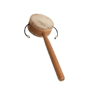 Monkey Drum With Handle 3.25 Inch