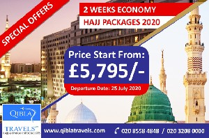 Cheap Hajj Packages - 2 Weeks Deal from UK