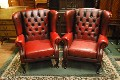 Second hand Chesterfield Leather Armchairs bargains from �159