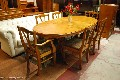 London Second hand Traditional Dining Table and Chairs Bargain