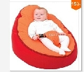 Ywxuege Novel Orange&Red baby chair portable infant seat sofa / baby bean bag bed Wholesale Free shipping