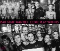 We are recruiting enthusiastic staff to work on our busy bar!!
