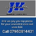 WE PAY YOU CASH FOR ALL YOUR UNWANTED VEHICLES