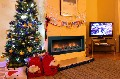 CHRISTMAS with sea views at Norfolk dog friendly holiday cottage