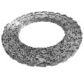 vidaXL BTO-22 NATO Razor Wire 100 m Steel - 141807 New