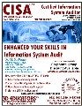 CISA Certified Information System Auditor Course Offerd by 3D Edu