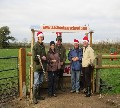 Clay pigeon shooting instruction from AA Shooting School, UK