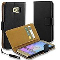 Flip Wallet Case Samsung S7 with Screen Protector & Mini Stylus