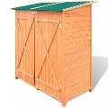 Wooden Shed Garden Tool Shed Storage Room Large 170168 New