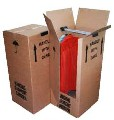 Buy Double Wall Wardrobe Removal Box from Globe Packaging
