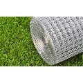 vidaXL Wired Mesh Fence Square 1 x 25 m Silver 140117 New