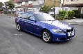 BMW 3 SERIES 2.0Lt, 318d ESTATE TOURING 5dr, AUTO, BLUE 2011