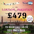 Cheap Flight London to Pakistan +44 20 7993 2801