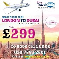 Cheap Flight London to Dubai +44 20 7993 2801