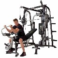 SMITH WEIGHT SYSTEM W/WEIGHTS/BENCH