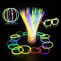 Glow Sticks Bracelets Necklaces Fluorescent Neon Party Wedding Ma