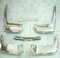 Volvo P1800 SE Cow Horn Bumper in Stainless Steel
