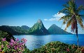 Direct round-trip flights from London to St Lucia on sale from 2