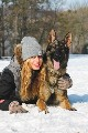 Sales of a German Shepherd male for 2 years ready for IPO1