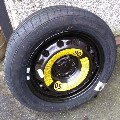 Seat Ibiza space saver spare wheel for Seat Ibiza 2008 onwards