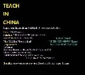 Native English Speakers ToTeach English In China