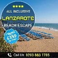 Incredible All Inclusive Lanzarote Beach Escape