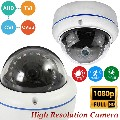 CCTV Dome 1080p Surveillance Camera 2.0MP Full HD In/Outdoor 4in1