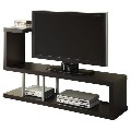 Modern Entertainment Center TV Stand in Cappuccino Finish From De