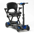 Purchase Drive 4 Wheel Automatic Folding Mobility Scooter (Blue)