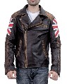 British-Flag Biker Jacket